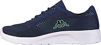 Kappa Delhi Footwear Unisex, Mesh, Damen Sneakers, Blau (6737 Navy/Mint), 39 EU (6 Damen UK)