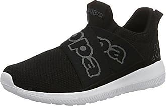 Kappa Careless, Zapatillas Unisex Adulto, Negro (1116 Black/Grey), 44 EU