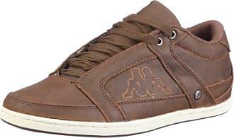 Légende Kappa, Chaussures Pour Adultes Unisexe, Brun (5410 Cognac / Blanc), 37 Eu