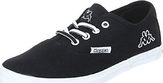 Kappa Legend, Zapatillas Unisex Adulto, Negro (1110 White/Black), 46 EU