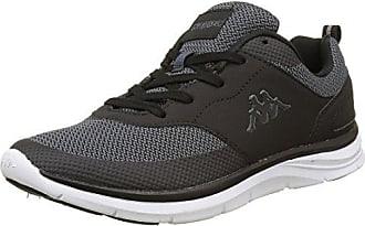 Trooper Plus Footwear Men, Leather, Unisex-Erwachsene Sneakers, Grau (1610 Grey/White), 43 EU (9 Erwachsene UK) Kappa