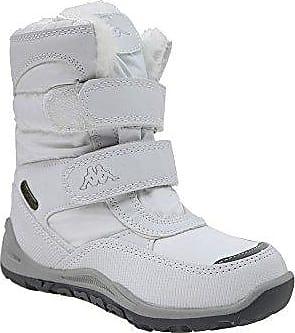 Kappa Unisex-Kinder Tundra Tex Teens Kurzschaft Stiefel, Weiß (1010 White), 40 EU
