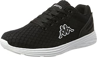 Kappa Share, Zapatillas Unisex Adulto, Negro (1110 White/Black 1110 Black/White), 37 EU
