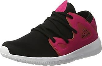 Kappa Rocket, Zapatillas para Mujer, Negro (1122 Black/Pink), 37 EU