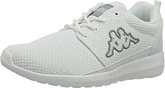 Kappa Flap, Zapatillas Unisex Adultos, Blanco (1016 White/Grey 1016 White/Grey), 39 EU
