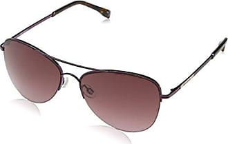 Karen Millen Sunglasses Damen Sonnenbrille Km700220656, Violett (Plum), 56