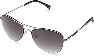 Womens KM7006 Sunglasses, Silver, 58 Karen Millen
