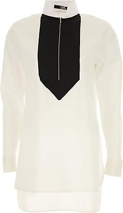 Shirt for Women On Sale, White, Cotton, 2017, 26 30 Karl Lagerfeld