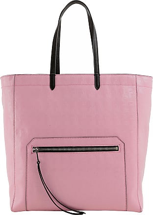 Karl Sac Fourre-tout Lagerfeld, Beige Rose, Cuir, 2017, Taille