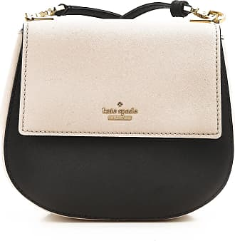 Kate Spade New York Shoulder Bag for Women On Sale, Black, Leather, 2017, one size