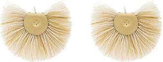 Boucles D'oreilles De Ventilateur Avec Milieu En Laiton - Makriyianni De Blanc Katerina 4CtpOe4P8