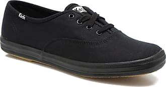 Keds Champion Core Canvas Black/white, Schuhe, Sneaker & Sportschuhe, Flache Sneaker, Schwarz, Female, 36