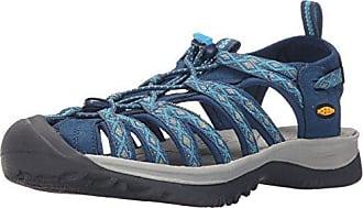 Keen Damen Whisper Sandalen Trekking-& Wanderschuhe, Blau (Poseidon/Blue Danube), 40.5 EU