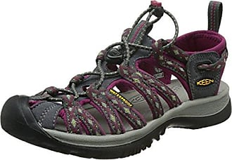 Keen Damen Evofit One Sandalen Trekking-& Wanderschuhe, Schwarz (Heather Black/Magnet Heathered Black/Magnet), 37.5 EU
