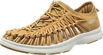 Keen Uneek O2, Chaussures de Gymnastique Homme, Gris (Castle Rock/Yellow Harvest Gold Castle Rock/Yellow Harvest Gold), 42.5 EU