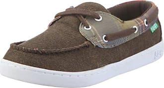 Keep Nuss Halbschuh KP009AU11, Unisex - Erwachsene, Sneaker, Braun (yarn dyed twill madras plaid K60), EU 34.5