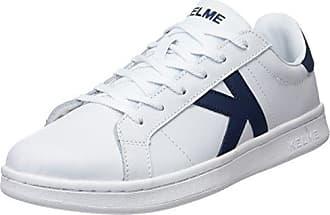 Kelme Retrobascket Jeans, Zapatillas Unisex Adulto, Azul (Denim 687), 41 EU