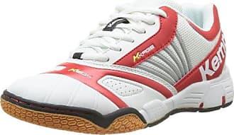 Adrenalin Women 200841501, Damen Sportschuhe - Handball, weiss, (weiß/rot/weiß), EU 44, (UK 9.5) Kempa