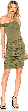 Ruched Dress in Army. - size M (also in L,S,XS) Kendall + Kylie