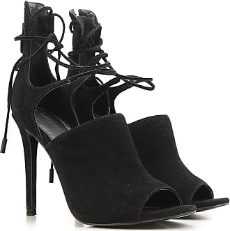 Pumps & High Heels for Women On Sale, Black, suede, 2017, 3.5 5 Kendall + Kylie