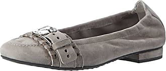 Schuhmanufaktur Malu, Ballerines Femme - Multicolore - Mehrfarbig (Light Grey/Light), 42Kennel & Schmenger