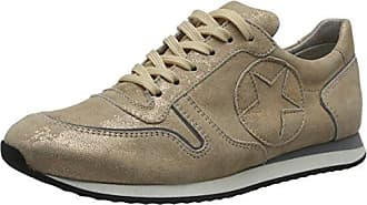 Kennel und Schmenger Schuhmanufaktur Runner, Sneakers Basses Femme - Gris - Grau (Taupe Sohle Grau), 41