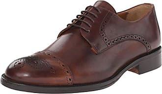 TOM Tailor 4882001, Zapatos de Cordones Brogue para Hombre, Azul (Navy), 42 EU
