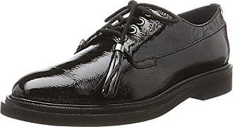 Tegan Hi Shine, Zapatos de Cordones Derby para Mujer, Negro, 36 EU Hudson