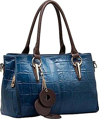 Damen Handtaschen Frauen Schultertasche Messenger Bag_Braun Keral gnH0HLBOT