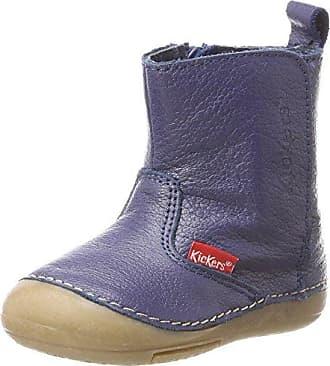 Kickers Baby Jungen Socool Klassische Stiefel, Blau (Marine), 18 EU