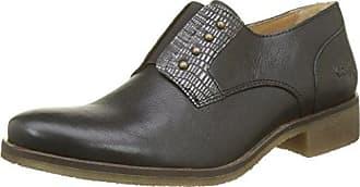 Kickers Kanning Plus Lo Lthr Am, Zapatos de Cordones Derby para Hombre, Negro (Black), 41 EU