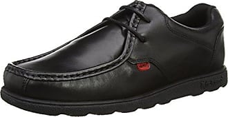 Kickers Reasan Lace Lthr Am, Zapatos de Cordones para Hombre, Negro (Black), 43