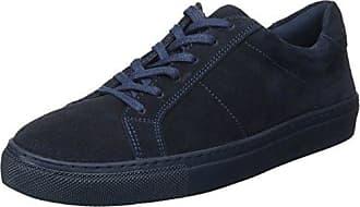 Kickers Review, Zapatillas Altas para Mujer, Azul (Marine 10), 36 EU