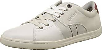 Zapatillas de Deporte de Otra Piel Mujer, Blanco (Blanco (Blanc 3)), 37 Kickers
