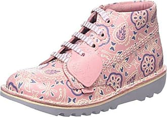 Kickers Hi LTHR If Lt, Bottes Fille, Rose (Light Pink/Mauve), 26 EU