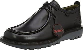 Zenna, Zapatos de Cordones Derby para Mujer, Negro (Noir 8), 41 EU Kickers