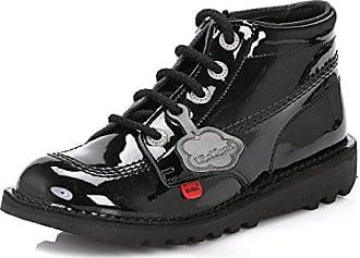 schwarze Schulschuhe für Damen und Mädchen KF0000130, Größe 35-38, schwarz - schwarz - Größe: 36 EU - 42 EU Kickers