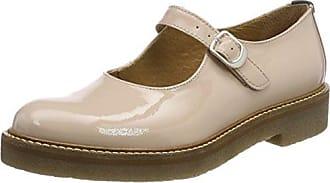 Kickers Tufou, Zapatos de Cordones Derby para Mujer, Beige (Beige 11), 38 EU