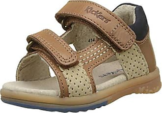 Kickers Gina, Sandales Bébé Fille, Marron (Camel Or), 21 EU