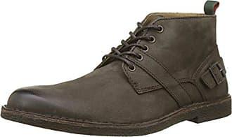 Kickers - Zapatos de Cordones de Otra Piel Hombre, Azul (Azul (Marine)), 43 EU