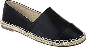 Bequeme Sommer Damen Espadrilles Slipper Flats Sandalen Freizeit Schuhe 732 (36, Khaki) King Of Shoes