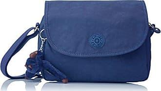 Reth S, Womens Cross-Body Bag, Blau (Jazzy Blue), 13.5x23x15.5 cm (B x H T) Kipling