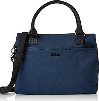 Kipling Lots Of Bag, Cartables femme, Grau (Night Metal), 52x28x18 cm (B x H T)