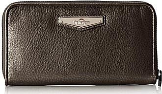 Nimmi, Femmes Porte-monnaie, Gris (gris Brillant), 18.5x10x0.1 Cm (bxht) Kipling