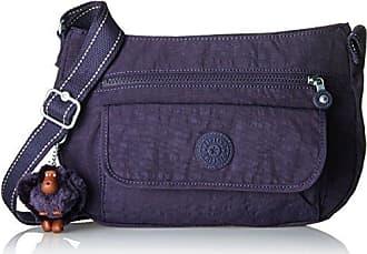Damen Syro Umhängetasche, Violett (Blue Purple C), 31x22x12.5 cm Kipling