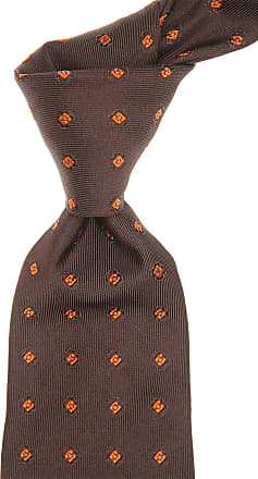 Ties On Sale, Anthracite Melange, Silk, 2017, one size Kiton