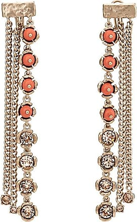 Chasun Young Womens Embellished Mismatched Drop Earrings yOlIC0