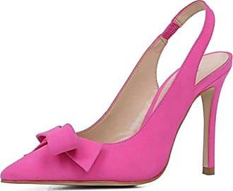 Minitoo , Damen Pumps, rosa - Pink-7.5cm Heel - Größe: 39 1/3