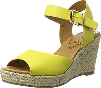 Sandalias con Punta Abierta de Sintético Mujer, Color Verde, Talla 36 EU Kurt Geiger