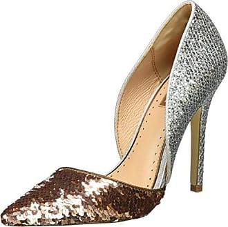 Flounce - Zapatos de Tacón Mujer, Color Dorado, Talla 38 Kurt Geiger